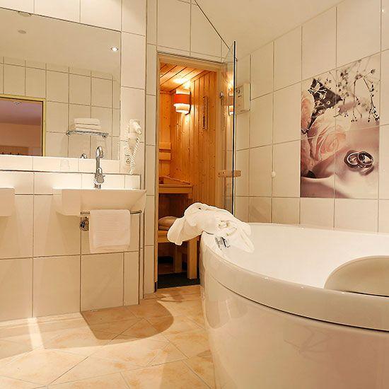Landgasthof Alte Post Hochzeits-Suite Sauna Bad