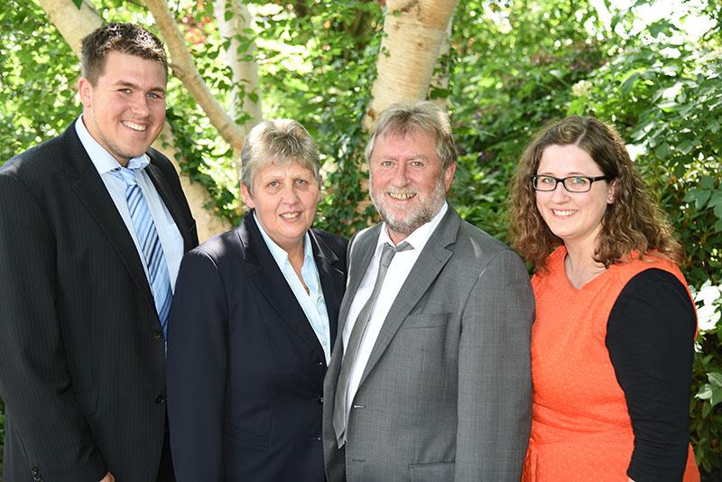 Familie Jannssen vom Landgasthof Alte Post